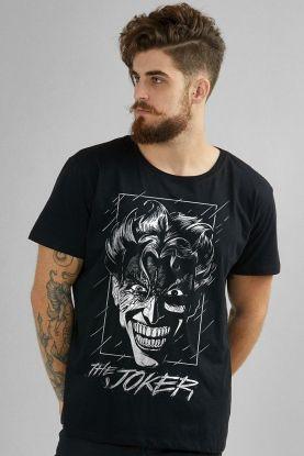 Camiseta Masculina Coringa Face