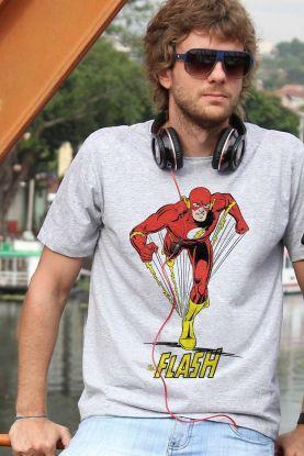 Camiseta Masculina The Flash Em Ação 2