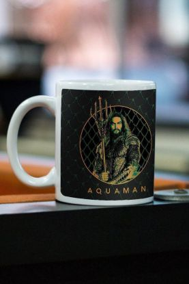 Caneca Aquaman Photo Movie