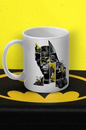 Caneca Batman 80 Anos As Faces de Batman