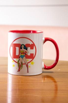 Caneca Logo DC Mulher Maravilha
