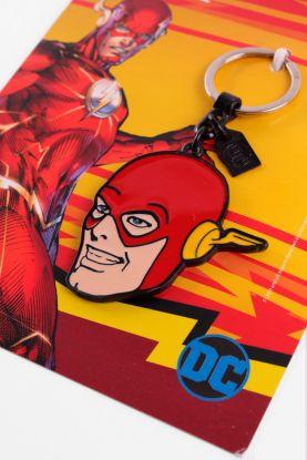 Chaveiro de Metal The Flash Face