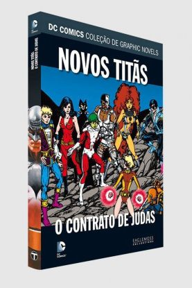 Graphic Novel Novos Titãs: O Contrato de Judas ed. 20