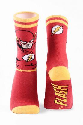 Meia Cano Alto The Flash