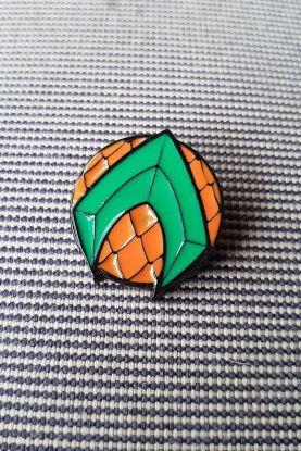 Pin de Metal Aquaman Logo