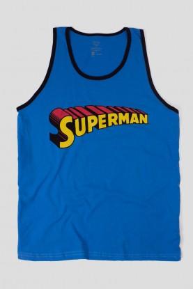 Regata Masculina Superman Logo Clássico