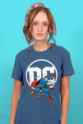T-shirt Feminina Logo DC Superman