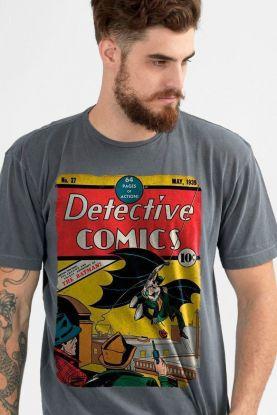 f885576b6c T-shirt Premium Masculina Batman 80 Anos Detective Comics