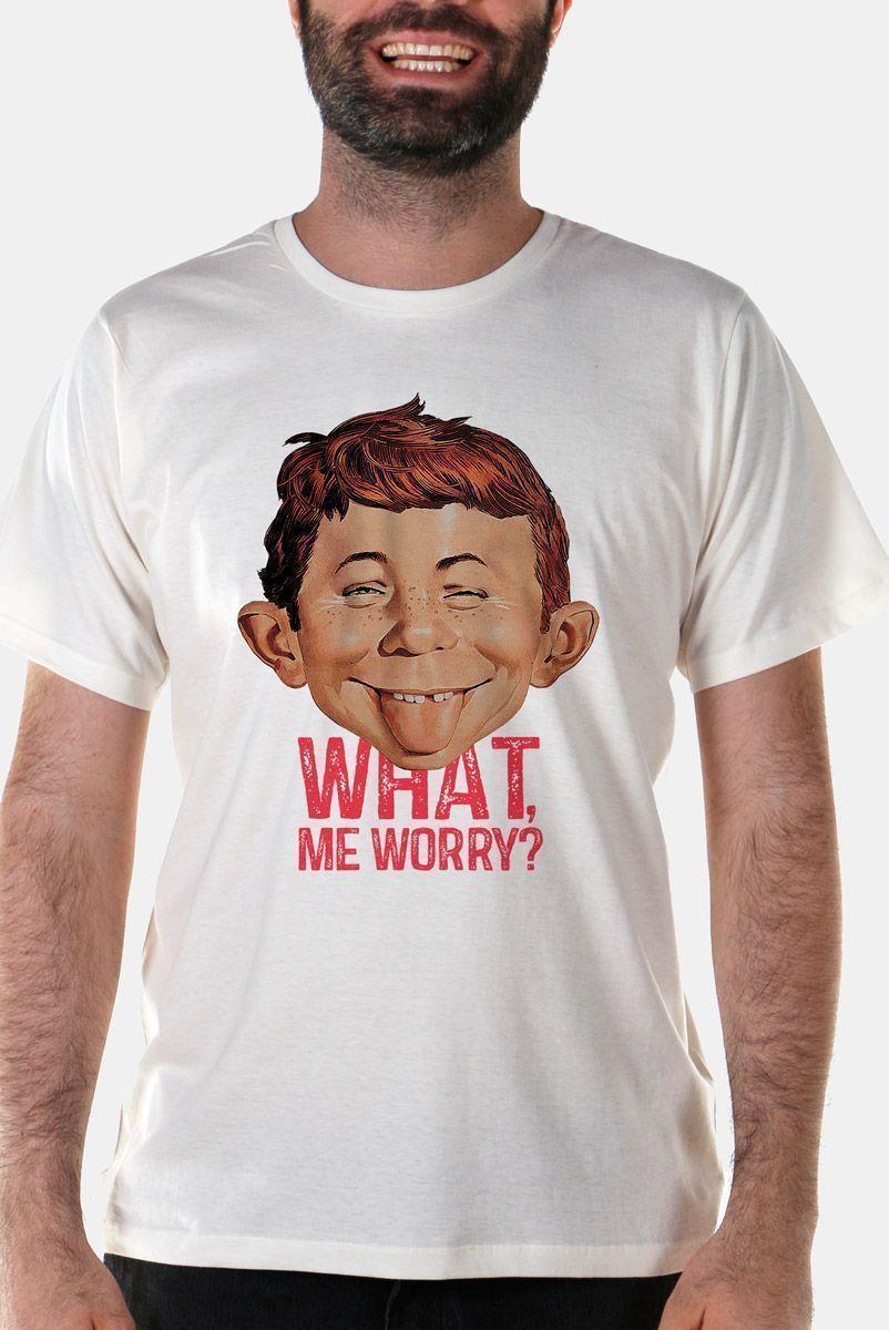 Camiseta Masculina MAD What, Me Worry? 2