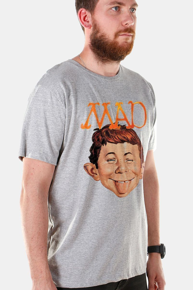 Camiseta Masculina MAD Face 3