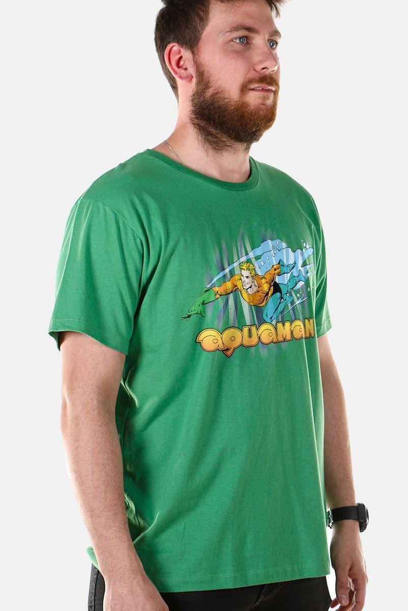 Camiseta Masculina Aquaman Force 2