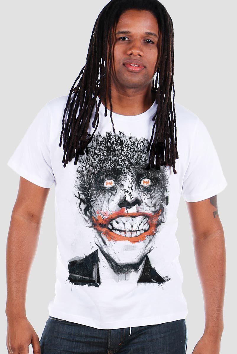 Camiseta Masculina The Joker Happy Bats