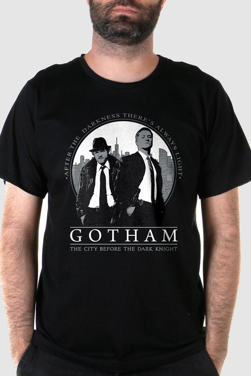 Camiseta Masculina Gotham After The Darkness