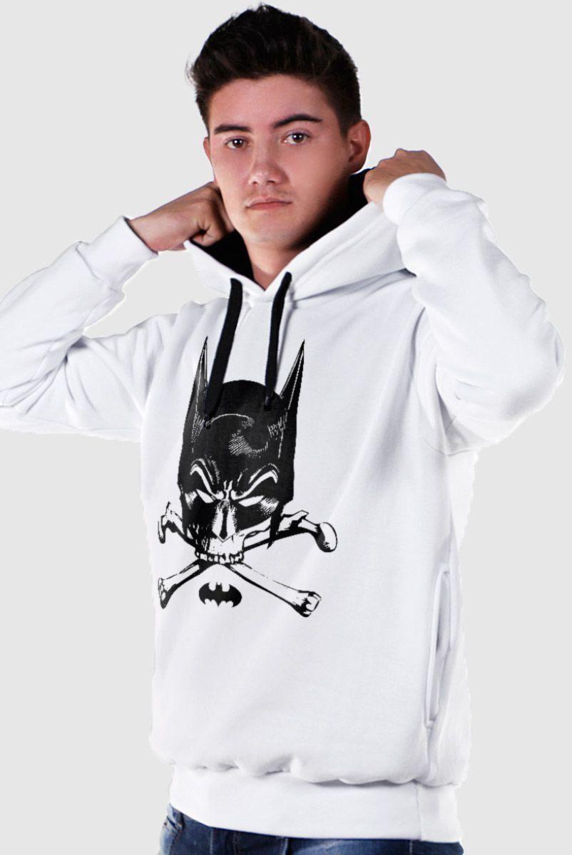Moletom Com Capuz Preto Batman Freak