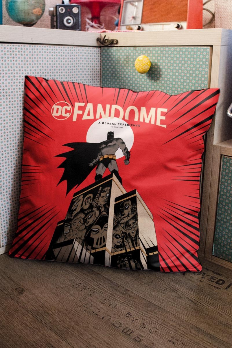 Almofada Fandome Batman Gotham City