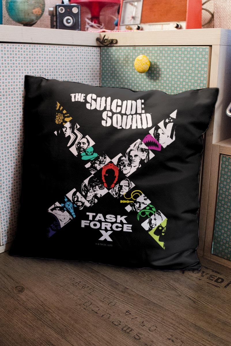 Almofada Fandome Esquadrão Suicida Task Force X