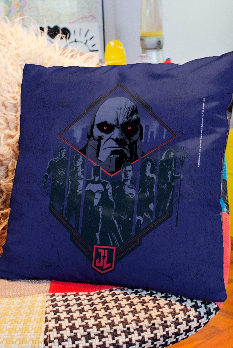 Almofada Liga da Justiça Snyder Cut - Darkseid vs Liga