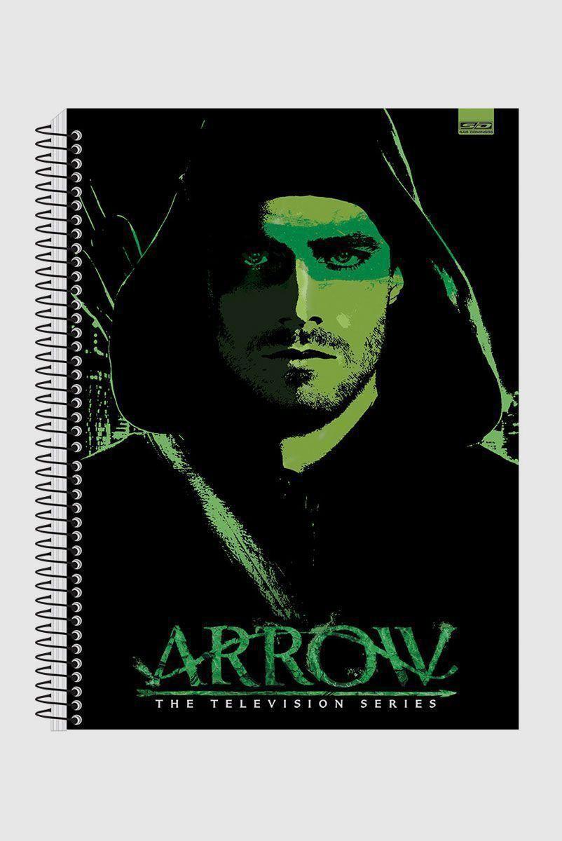 Caderno Arrow Green Vector 1 Matéria