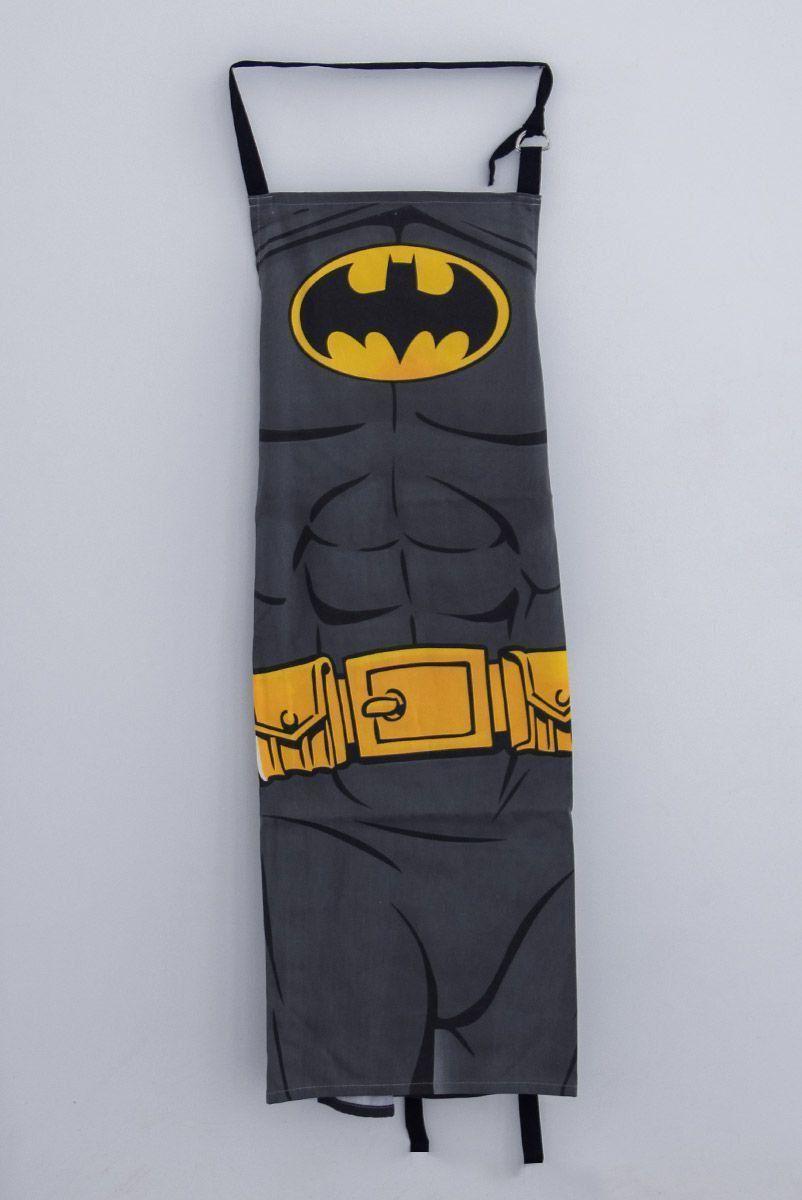 Avental Batman Body Preto