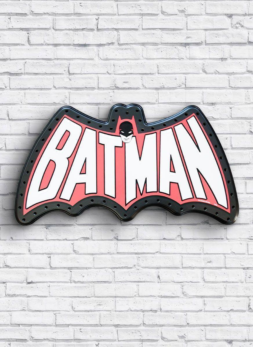 Luminária Led DC Batman