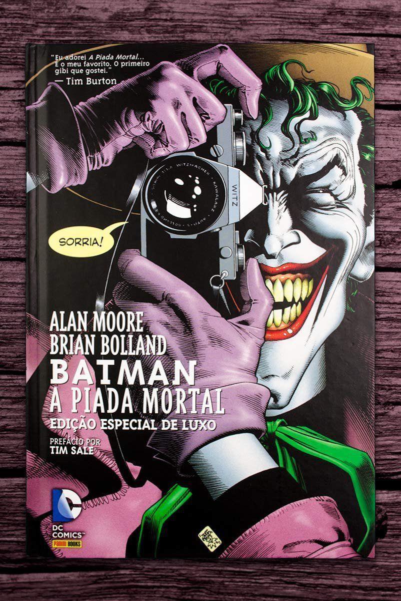 Graphic Novel Batman A Piada Mortal