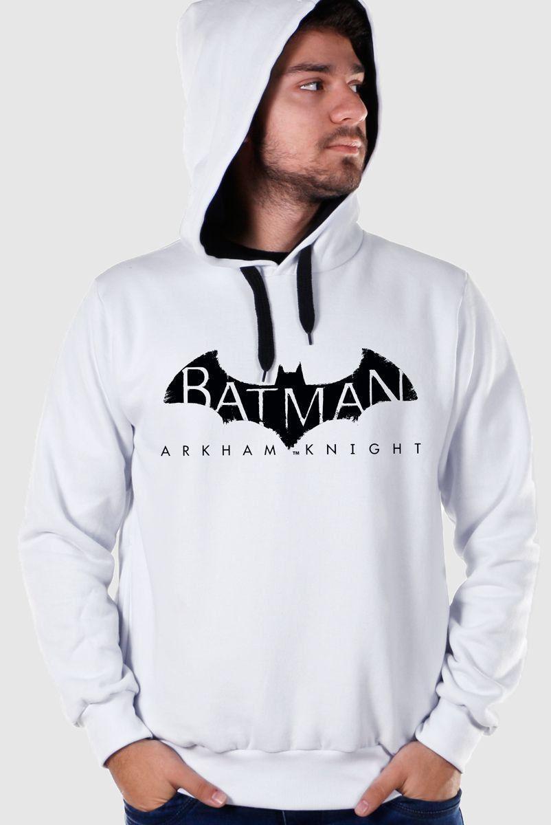Moletom Batman Arkham Knight Logo