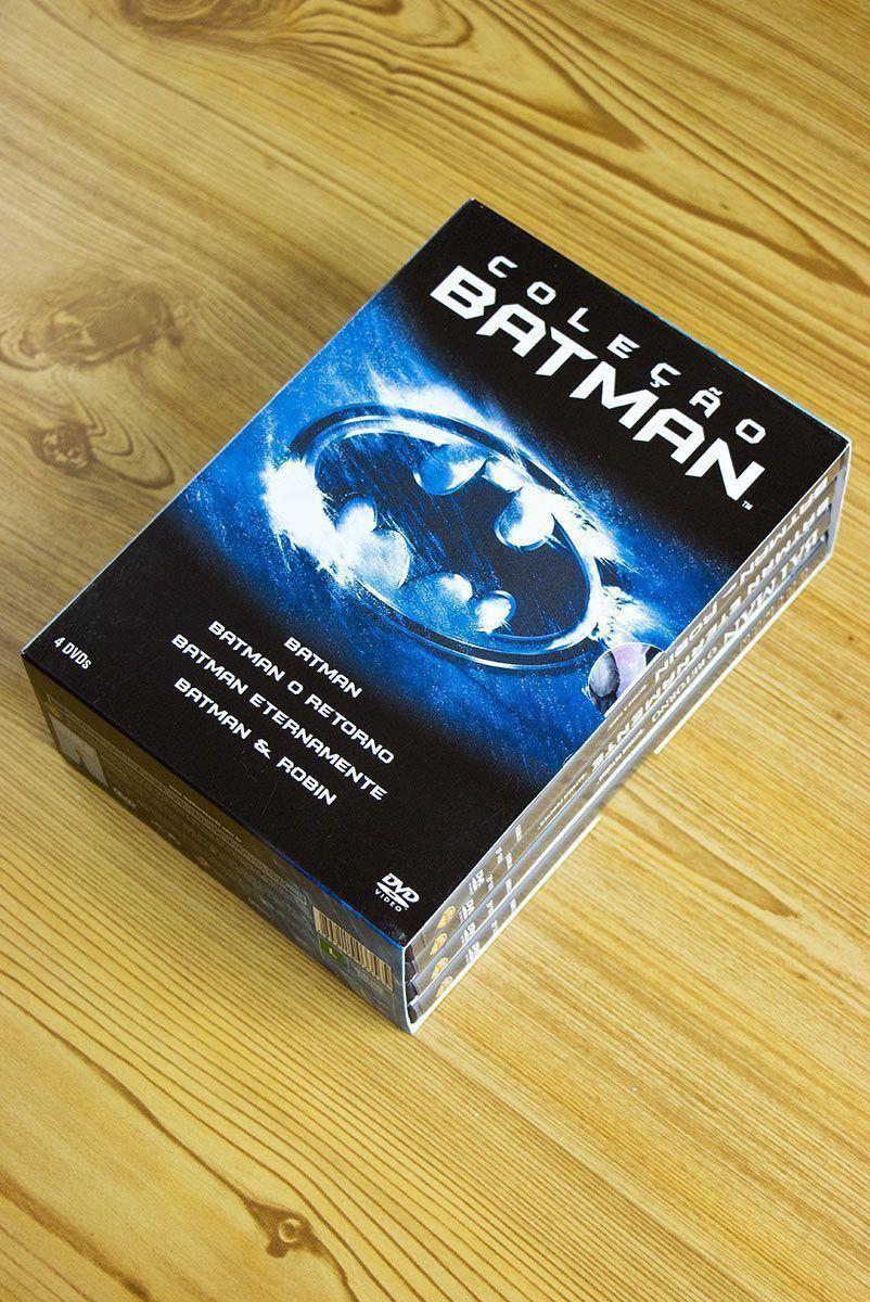 Coleção Batman - 4DVDs