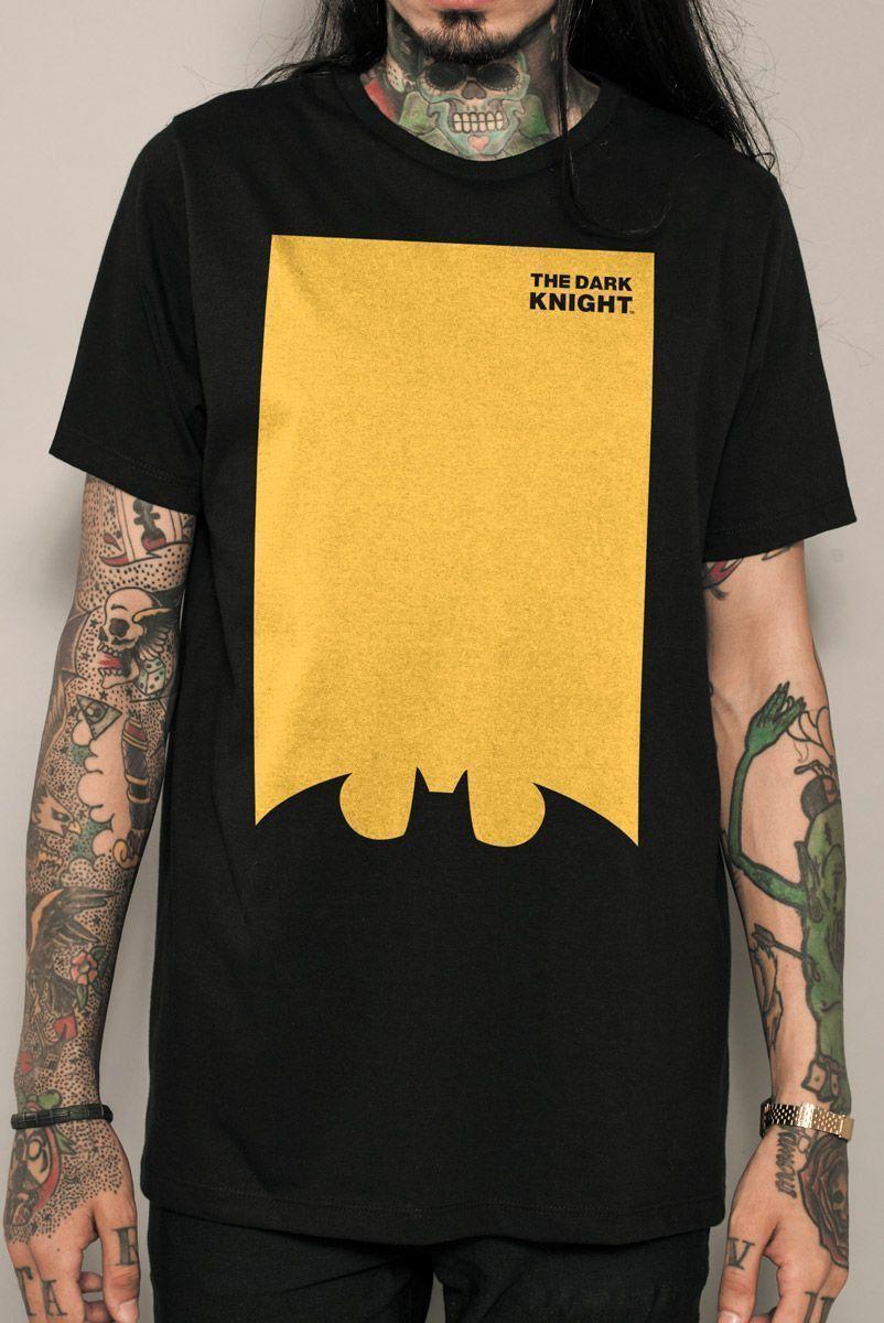 Camiseta Masculina Batman The Dark Knight NÃO LIBERAR PARA VENDA
