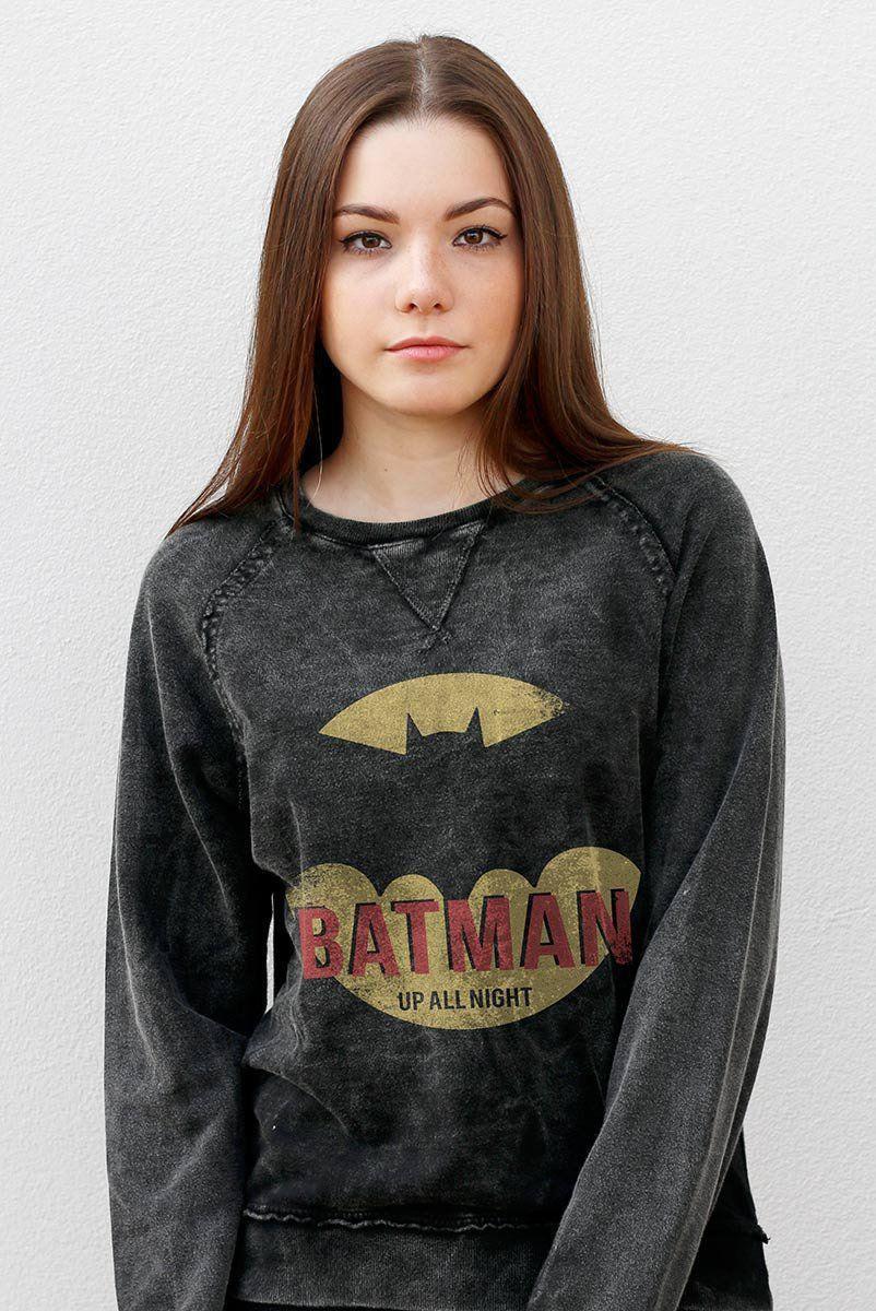 Moletinho Marmorizado Batman Up All Night