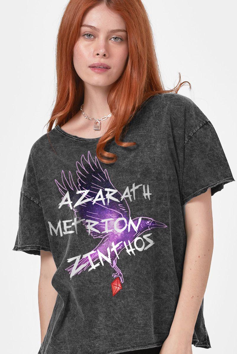 Blusa Feminina Jovens Titãs Ravena Azarath Metrion Zinthos