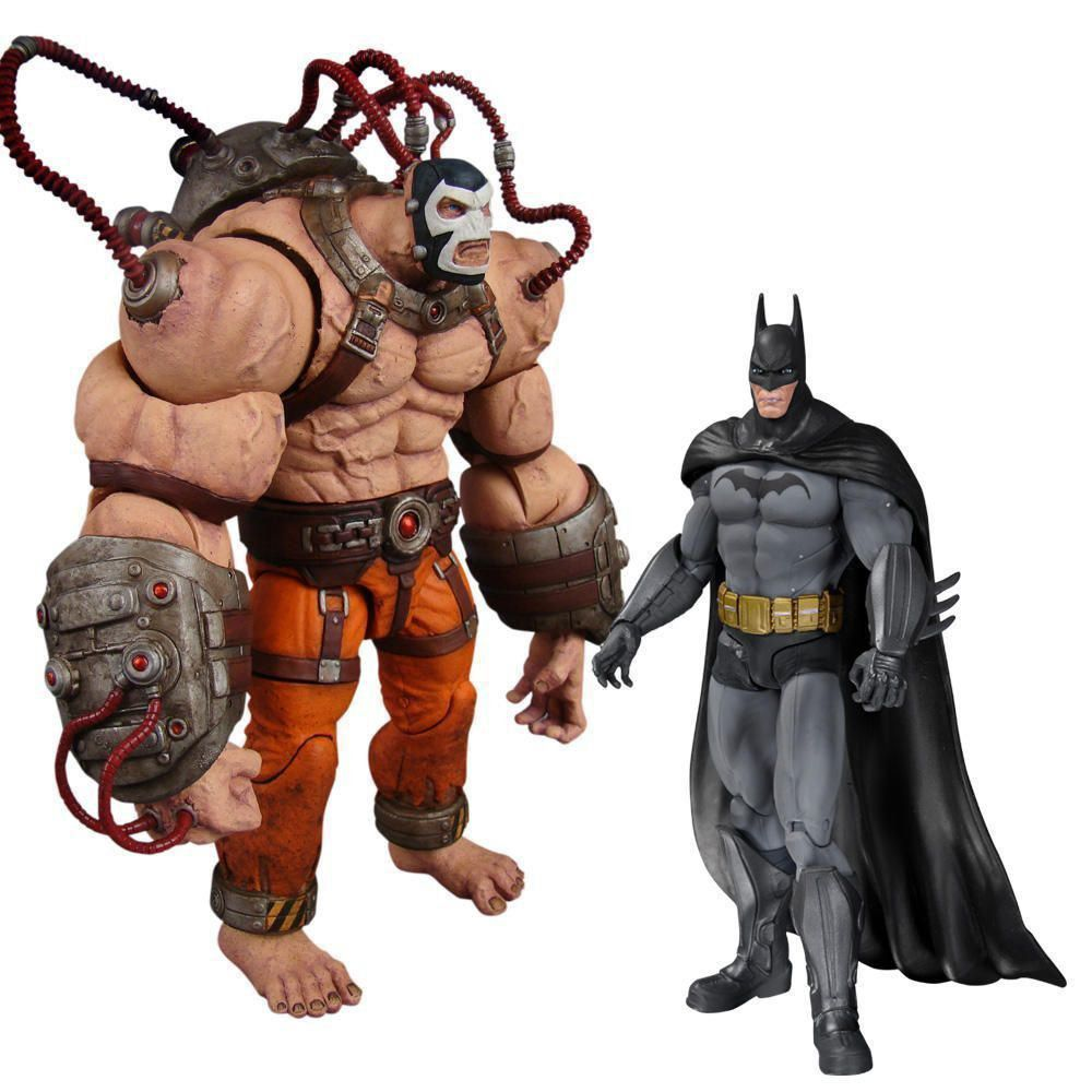 Boneco (Action Figure) Batman vs. Bane Arkham Asylum