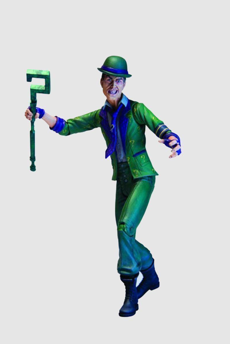 Boneco (Action Figure) Charada Arkham City Series 2