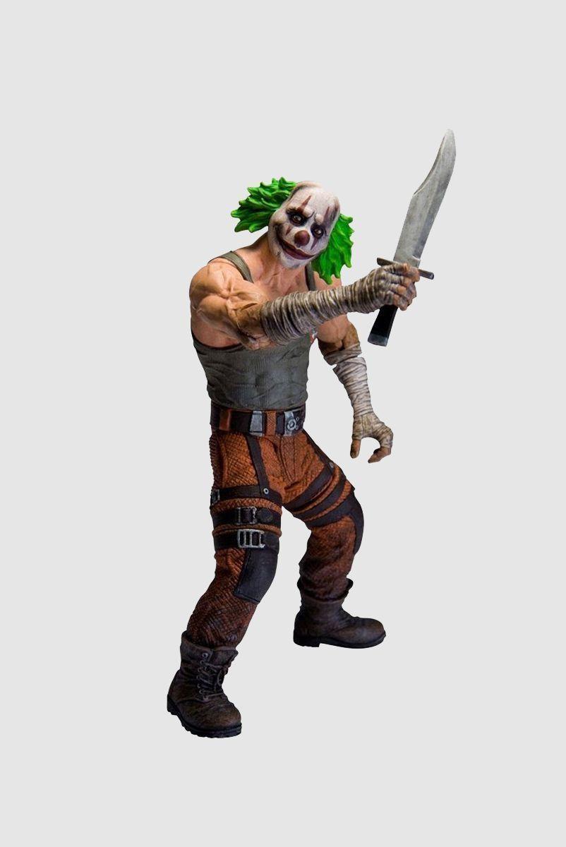 Boneco (Action Figure) Clown Thug 2 Arkham City Series 3