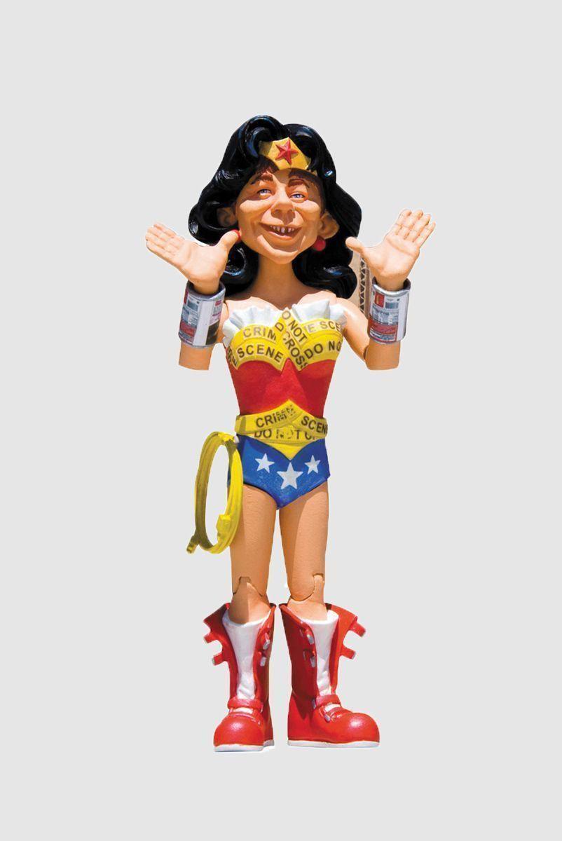 Boneco (Action Figure) MAD Just-Us League Mulher Maravilha