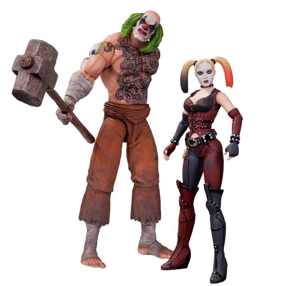 Boneco (Action Figure) Mr. Hammer & Harley Quinn - DC Collectibles