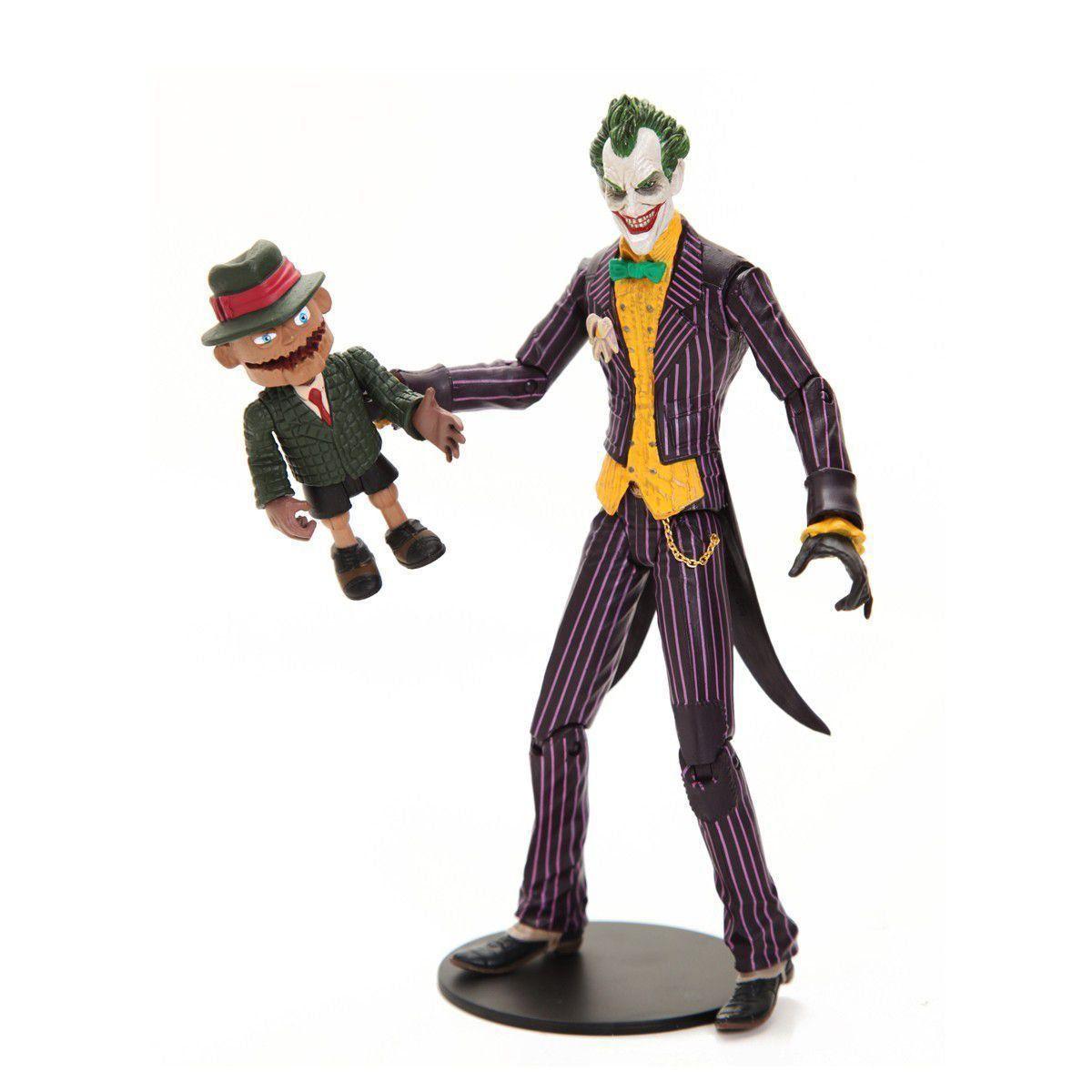 Boneco (Action Figure) Coringa e Scarface Arkham Asylum DC Collectibles