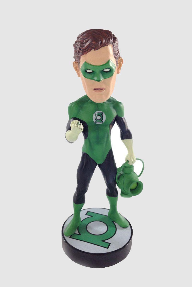 Boneco Head Knocker Lanterna Verde