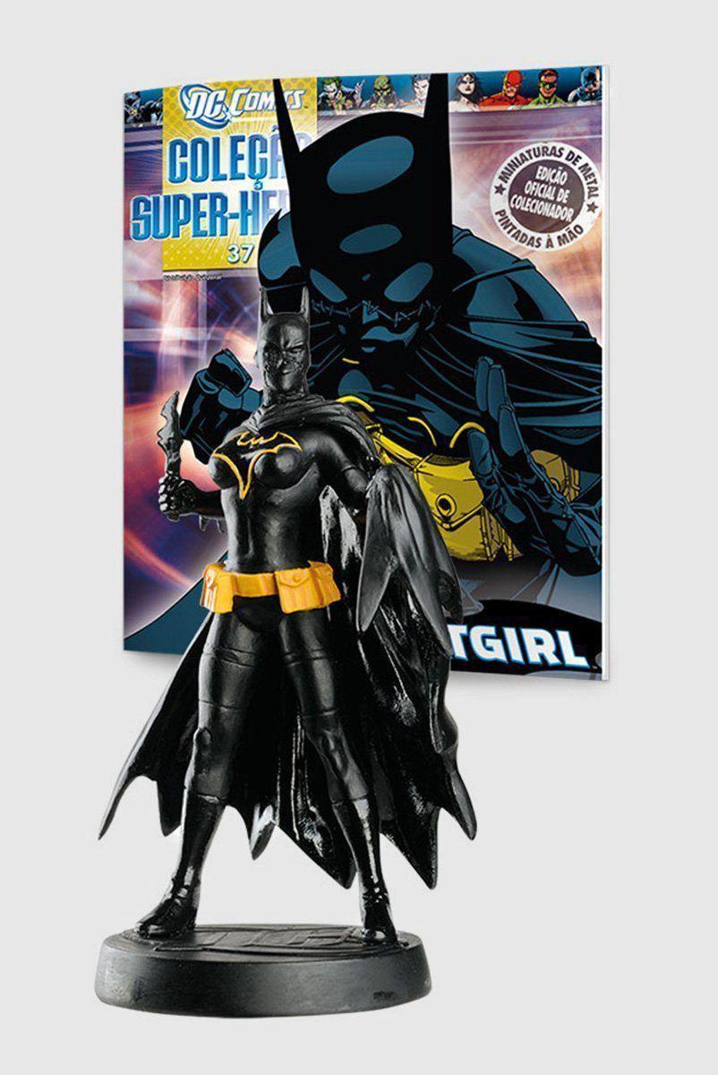 Boneco Miniatura Batgirl ed.37 + Revista