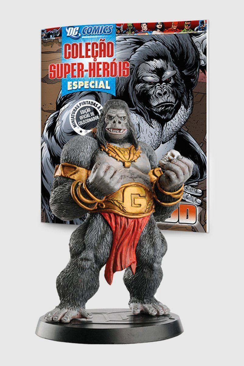Boneco Miniatura Especial Gorilla Grodd + Revista