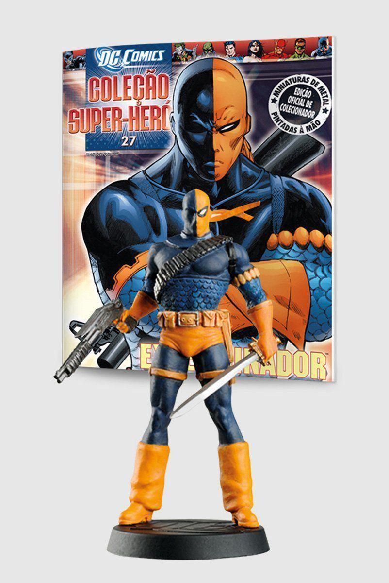 Boneco Miniatura Exterminador ed.27 + Revista
