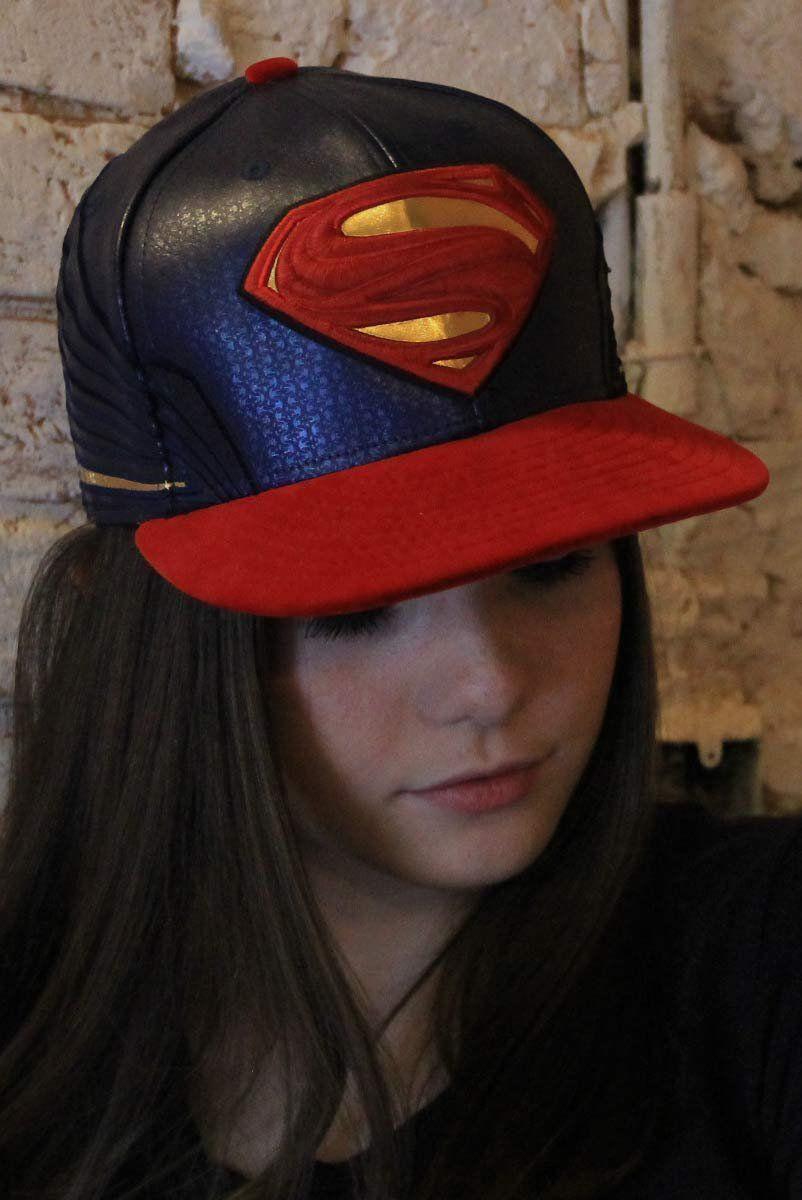 Boné z5950 New Era® 59FIFTY® Character Armor Superman