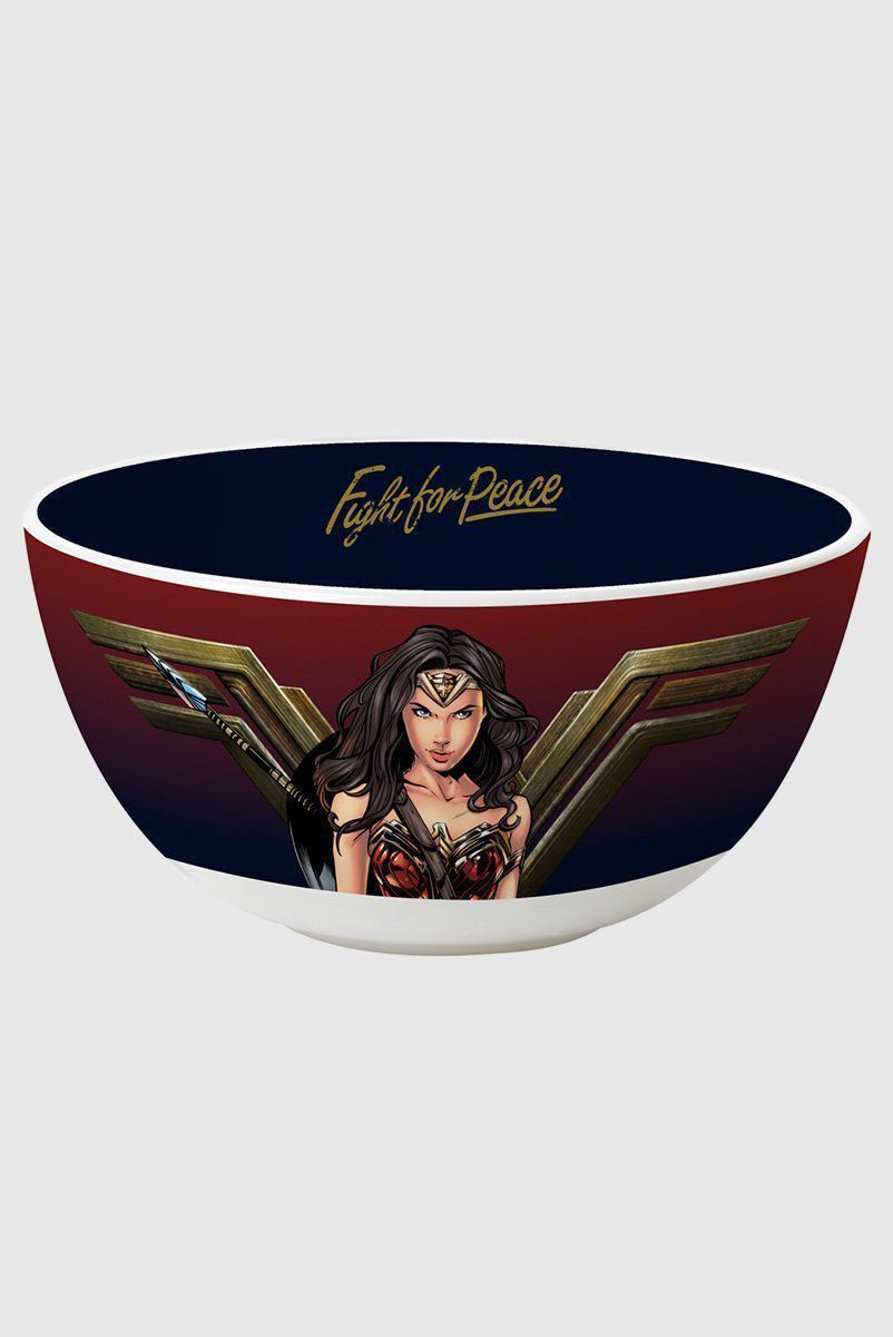 Bowl Porcelana Wonder Woman Movie Warrior