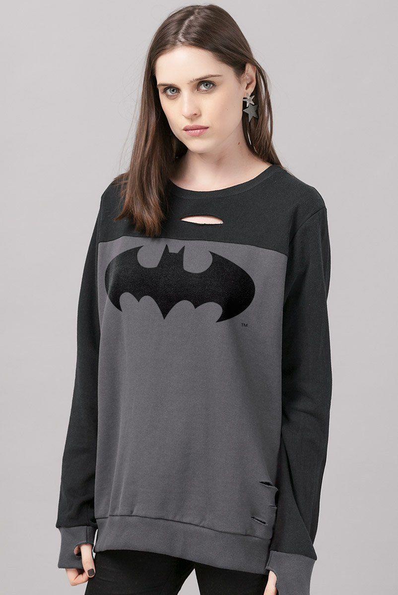Moletom Feminino Batman Paint