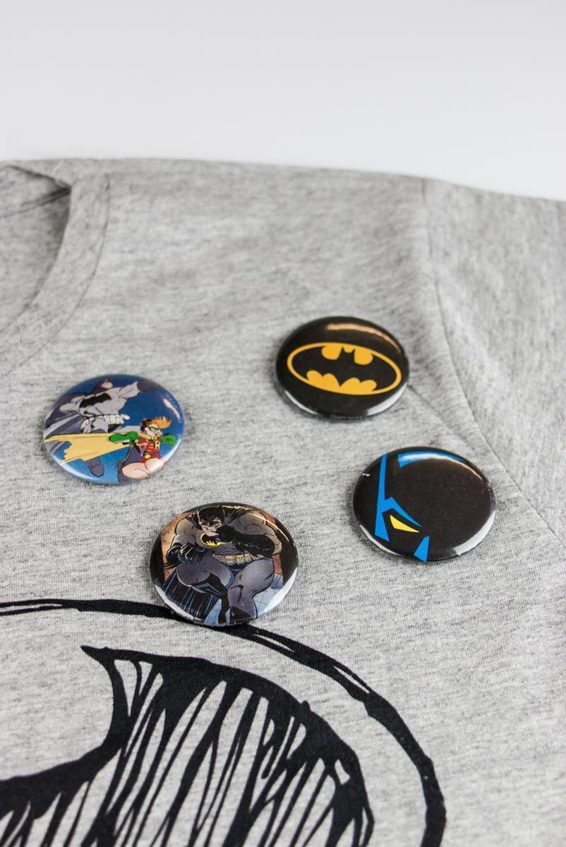 Cartela de Buttons Batman
