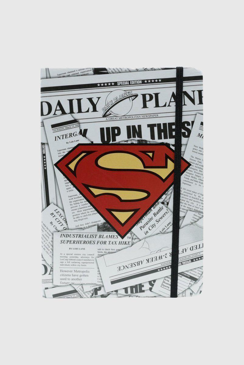 Caderneta de Anotação DC Superman Logo A5