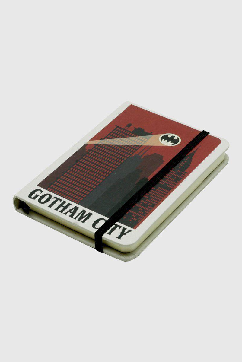 Caderneta de Anotações Batman Sinal de Alerta A6
