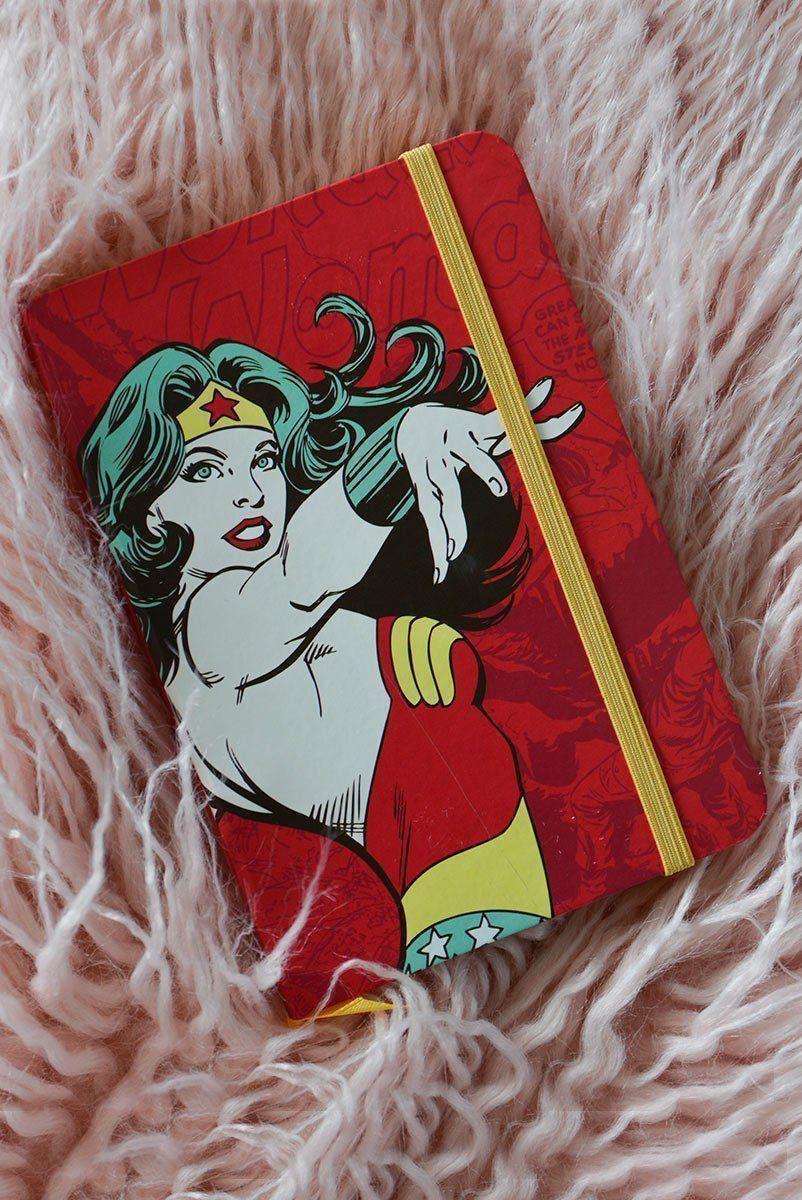 Caderneta de Anotações Wonder Woman