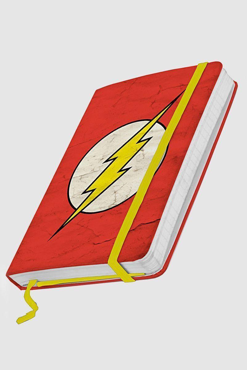 Caderneta de Anotações Grande The Flash Logo