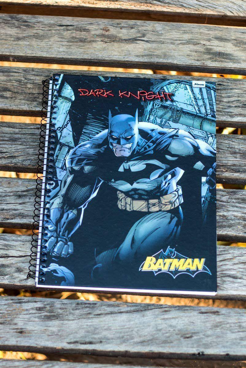 Caderno Batman Dark Knight 1 Matéria