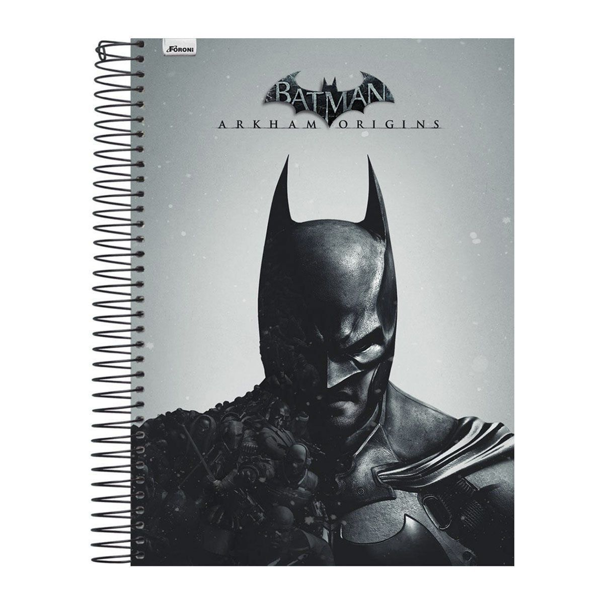 Caderno Batman Half Black Face 1 Matéria